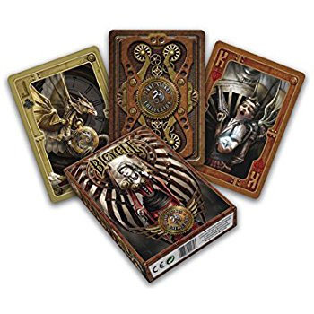 Игральные карты «Bicycle Anne Stokes Steampunk» (USPCC, 54 карты)