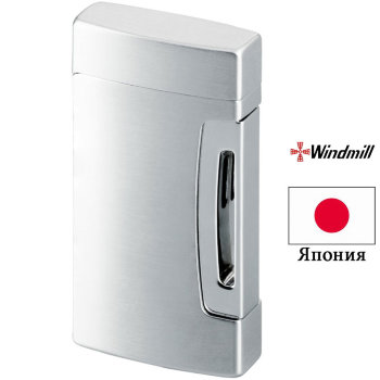 Газовая зажигалка Windmill Wind Master 2 Chrome Satin